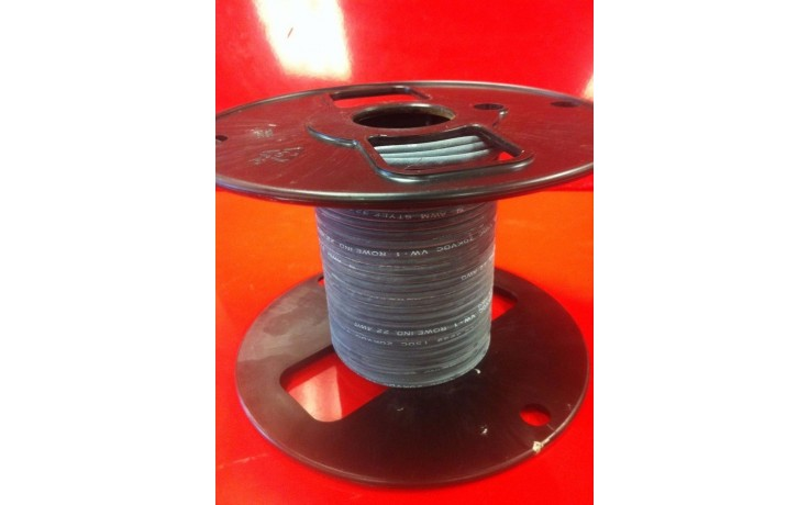 R800-2520-0-50 | 20AWG | 25kV DC | 50' ft High Voltage Silicone Lead Wire