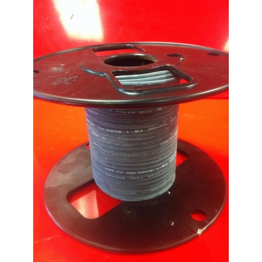 R800-2514-0-50 | 14AWG | 25kV DC | 50' ft. High Voltage Silicone Lead Wire